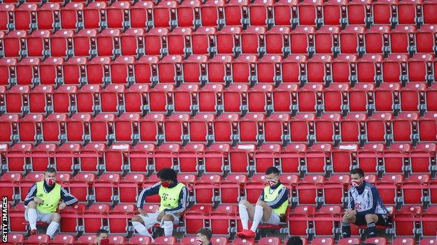 Reprise du Football en Allemagne
